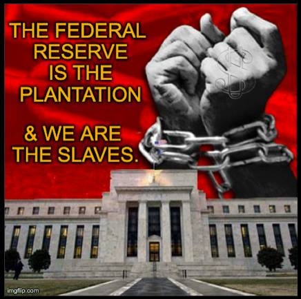 Image result for image of Central Banks slavery